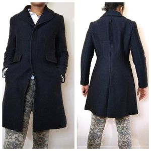 Women's black banana republic coat